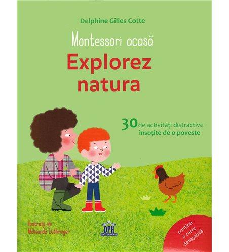Montessori acasa: Explorez natura