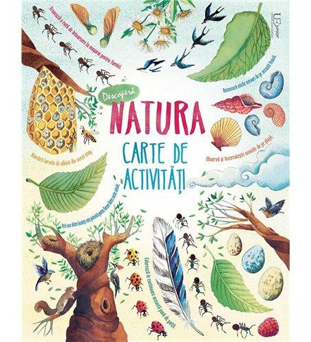 Descopera natura. Carte de activitati Usborne