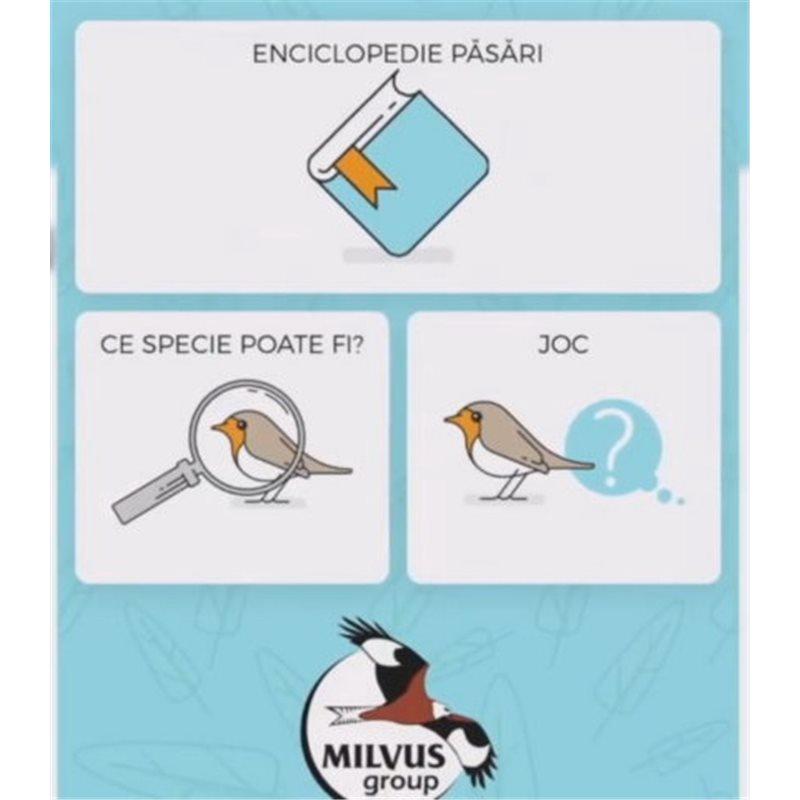 Milvus - app pentru determinarea păsărilor