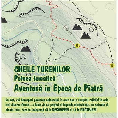 Poteca tematica Aventura in Epoca de Piatra - Cheile Tureniului